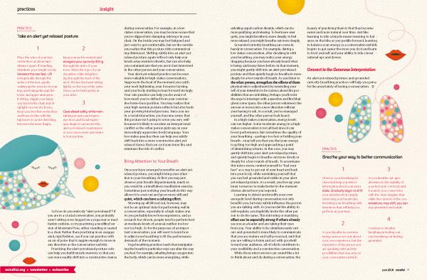 Asia Pietrzyk for Mindful magazine